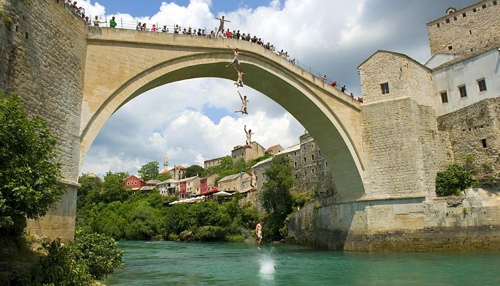 جسر ستارى موست فى البوسنة والهرسك