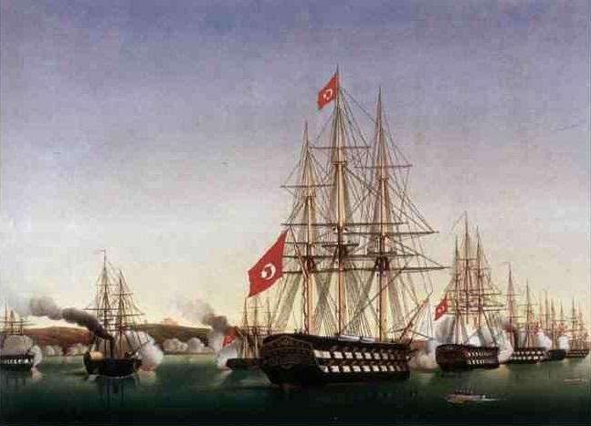 سفن الاسطول المصرى ابان عهد حسن الاسكندرانى