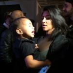 كيم وابنتها