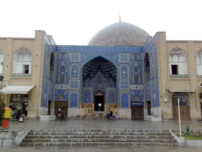 مسجد الشيخ لطف الله فى أصفهان إيران