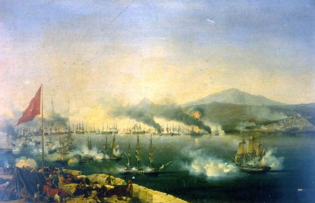 معركة نفارين البحرية