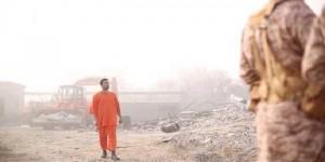 داعش تبث صورا لعملية قتل الطيار الأردنى الكساسبة حرقاً
