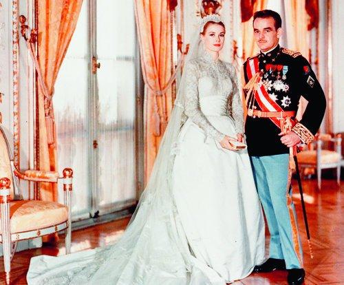 الأمير رينيه والجميلة جريس كيلى