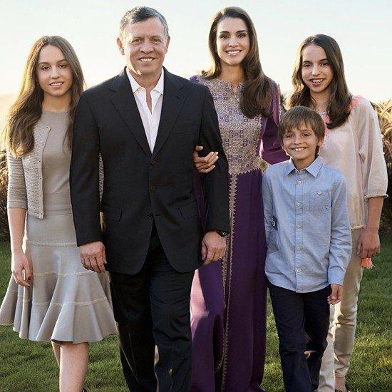 العاهل الأردنى الملك عبد الله الثانى والملكة رانيا3