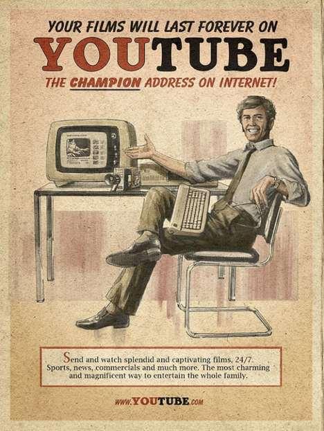 اليوتيوب فى الاربعينات