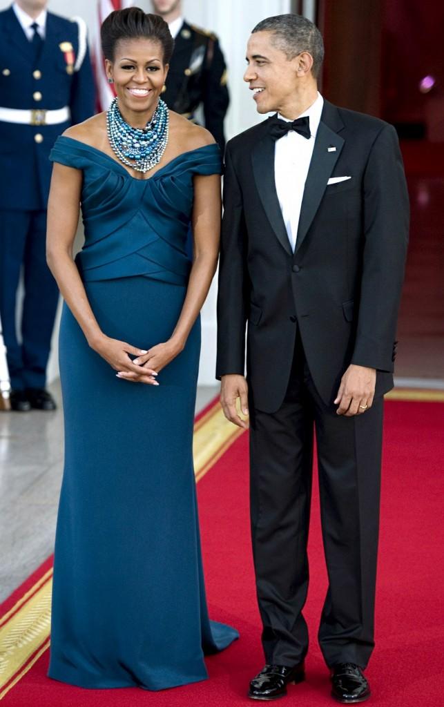 باراك وميشيل أوباما2