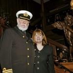 صورة للقبطان