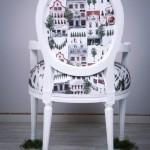 كرسي بألوان جميلة