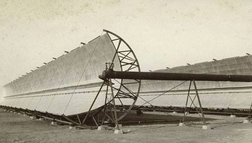 أول محطة طاقة شمسية فى العالم