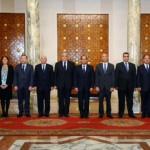 الوزراء الجدد يؤدون اليمين أمام الرئيس السيسي
