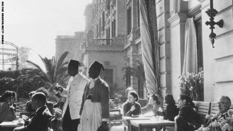 فندق شيبرد، القاهرة 1940