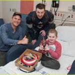كابتن امريكا فى مستشفى سياتل للأطفال