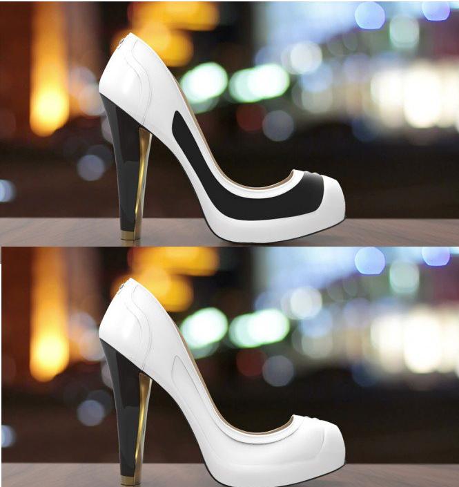 التكنولوجيا تصل للأحذية..حذاء يتغير شكله عبر الحبر الإلكترونى