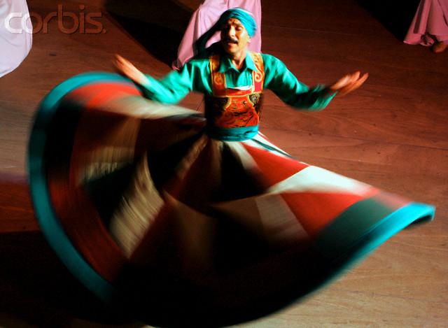Egypt - Dervish dancer