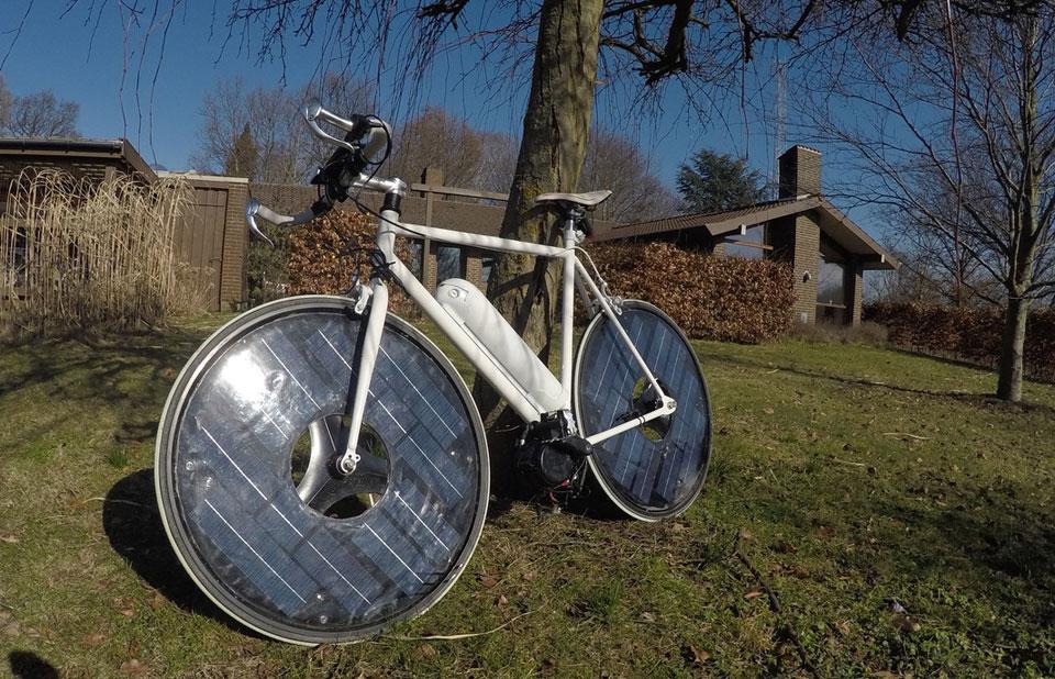 الدراجة الشمسية