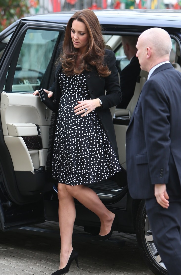 Catherine, Duchess of Cambridge visits the Brookhill Children's Centre