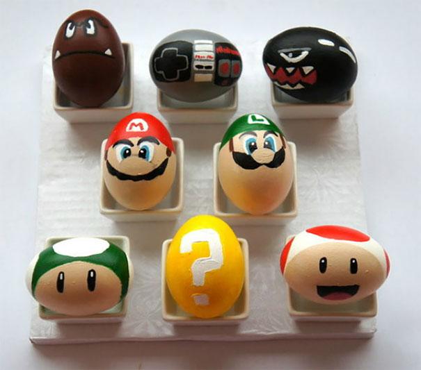 بيض سوبر ماريو
