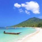"""- جزيرة """"كو تاو"""" في تايلند."""