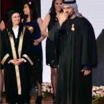 حسين الجسمي فخور بتكريمه من قبل اكاديمية الفنون في مصر