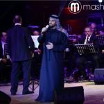 حسين الجسمي يقدّم وصلة غنائيّة مميّزة خلال الحفل