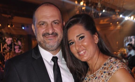 خالد الصاوى وزوجته