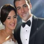 دنيا سمير غانم وجد الكثيرين أنها تشبه زوجها في الابتسامة وشكل الأسنان ولون البشرة