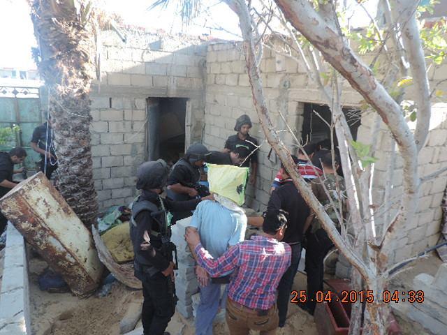 ضبط عناصر من كتائب القسام فى سيناء