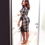 عارضة للأزياء المناسبة لصاحبات الوزن الزائد