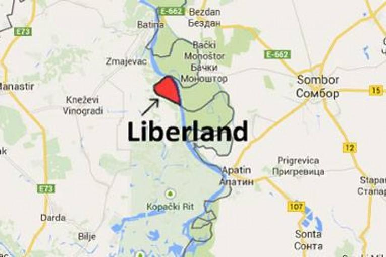ليبرلاند على الخريطة