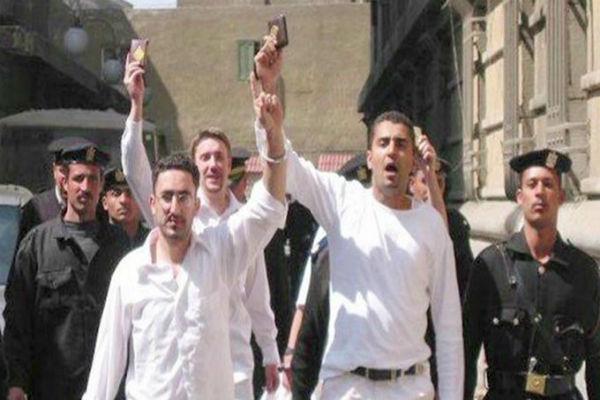 ماجد نواز لدى اعتقاله فى مصر