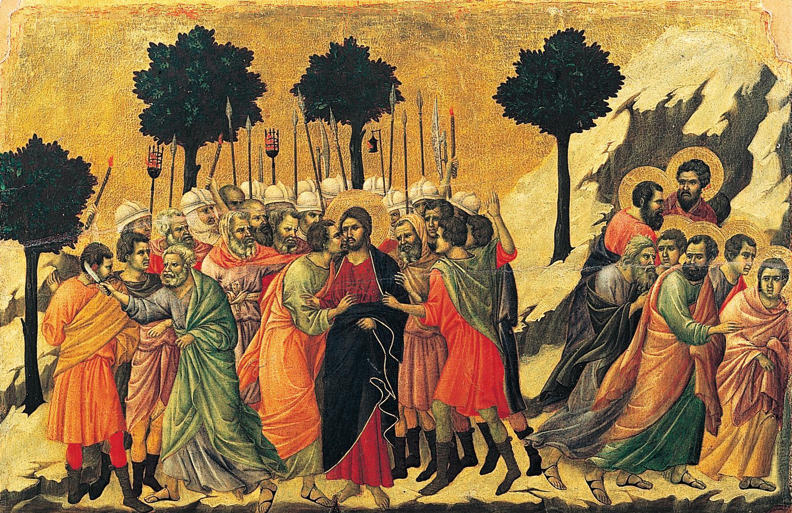 يهوذا يسلم المسيح لليهود