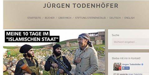 الصحفى الذى زار داعش