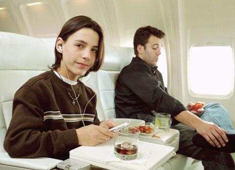 أكل الطائرة
