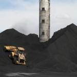 Coal Storage, TS Power Plant, Newmont Mining Corporation, Dunphy, Nevada 2012