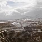 Open pit, Newmont Mining Corporation, Carlin, Nevada, 2013