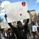 مظاهرات بالتيمور