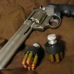 إحدى مسدسات الملك فاروق