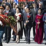 السيسى فى احتفالات روسيا