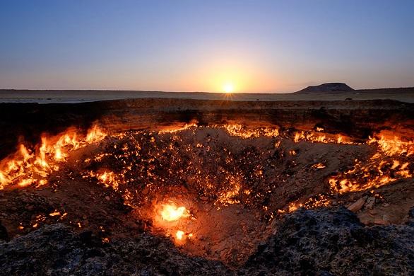 بوابة الجحيم – تركمنستان