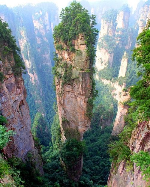 جبال تيانزي – الصين
