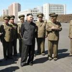 زعيم كوريا الشمالية فى عرض عسكرى
