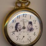 ساعة ملكية بمناسبة زواج الملك فاروق والملكة ناريمان