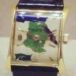 ساعة يد الملك فاروق ملك مصر والسودان