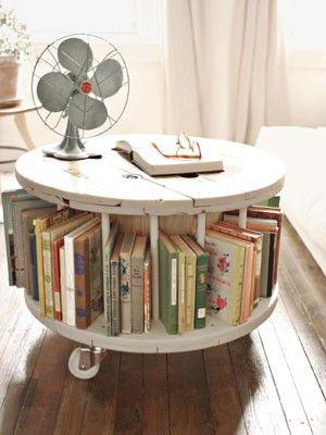 طاولة-دائرية-فيها-كتب-من-الأسفل