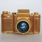 كاميرا الملك فاروق الشخصية من الذهب الخالص