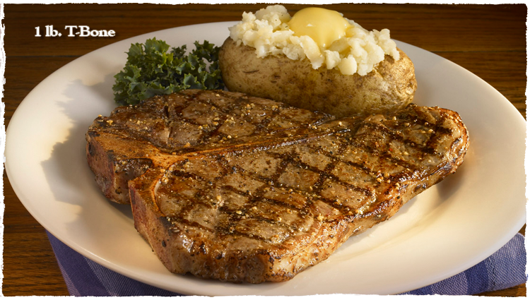 لحم تى بون