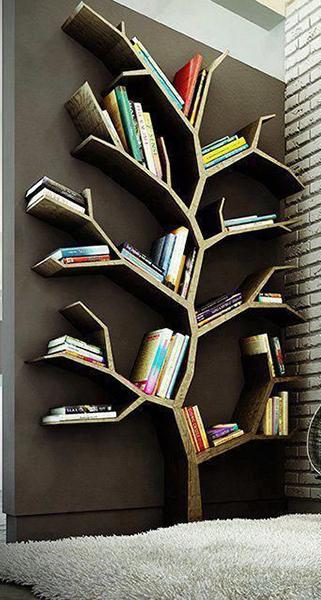 مكتبة-على-شكل-شجرة