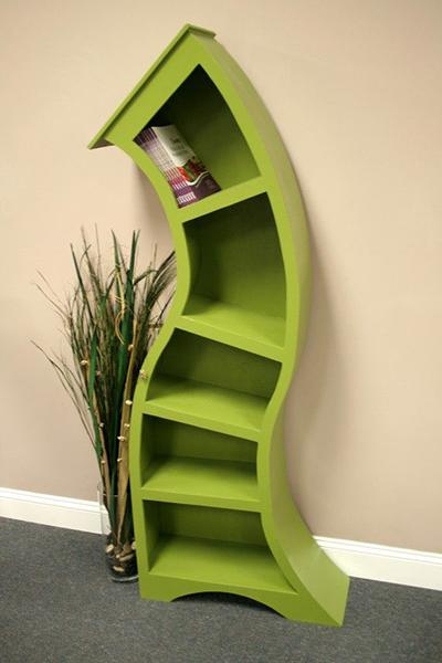 مكتبة-منحنية