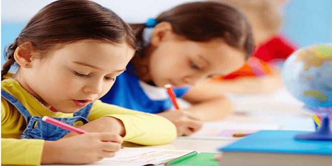 الأطفال والامتحانات