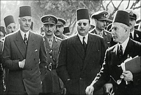الملك فاروق فى عيد العمال